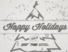 Norfolk Southern Holiday Card 2015